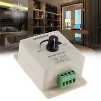 Manual Dimmer Switch For Single Color LED Strip Light DC 12V 8A with Terminals