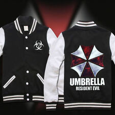 New Resident Evil Umbrella Casual Sweatshirt Baseball Uniform Jacket Coat