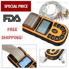 CONTEC ECG80A ECG EKG machine Digital 1 channel 12 lead Electrocardiograph FDA