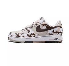Men's Nike Air Force 1 Premium Shoes Camo Birch/Choc. Size 11  Original Release