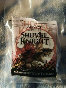 Arby's Kids Meal Shovel Knight Launcher Token: Specter Knight ~ New / Sealed