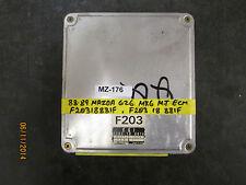 88 89 MAZDA 626 MX6 M.T ECM #F20318881F/F203 18 881F *See item description*