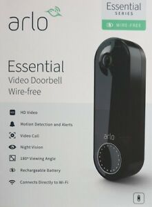 New Arlo Essential Wireless Video Doorbell