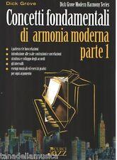 CONCETTI FONDAMENTALI DI ARMONIA MODERNA PARTE 1 - D. GROVE