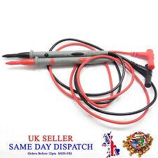 Multímetro Medidor Puntas De Prueba SMD 1000V 10A cable sonda de cobre Sharp Aguja los Dmm