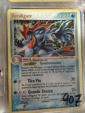 Italian FERALIGATR 4/115 ~ RARE REV HOLO SHINY POKEMON CARD VERY GOOD CONDITION