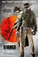 "DJANGO UNCHAINED MOVIE POSTER - QUENTIN TARANTINO - 91 x 61 cm 36"" x 24"""