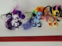 Hasbro My Little Pony MLP Ponymania Goth Gothic Brushables Figure Toy Lot 2010