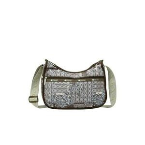 LeSportsac Classic Collection Classic Hobo Crossbody Bag in Pieced Tapestry NWT