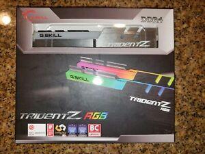 ✔✔ G.SKILL TridentZ RGB 32GB (2 x 16GB) *CL14* 3200MHz 25600 DDR4 *B-Die* GSKILL
