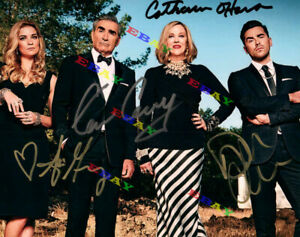 Schitt's Creek Cast Autographed Signed 8x10 Photo Reprint