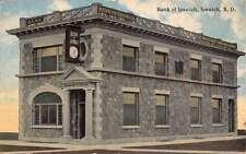 Ipswich South Dakota Bank Exterior Street View Antique Postcard K21599