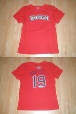Womens American League All Star Jose Bautista S Jersey T-Shirt Toronto Blue Jays