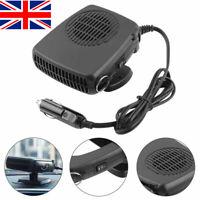 Auto Heater Heating Fan Car Dryer 12V 150W Car Vehicle Demister Defroster UK
