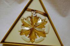 SWAROVSKI SCS GOLD 2014 ANNUAL EDITION Christmas Ornament 5059027
