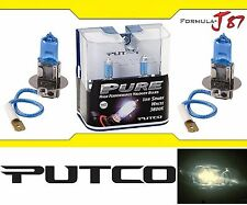 Putco 3800K Iron White H3 230003SW 55W Two Bulbs Fog Light Replacement Lamp Fit