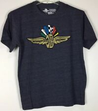 Mens Indianapolis Motor Speedway T Shirt Large Short Sleeve Polyester Blend