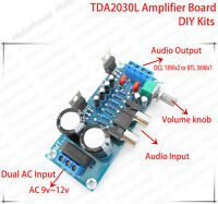 TDA2030L Amplifier Amp board DIY kit BTL/OCL TDA2030A TDA2030 for Audio Hifi