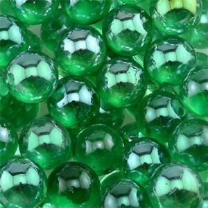 """9/16"""" - 5/8"""" GLASS MARBLES VASE FILLER AQUARIUM GRAVEL CRAFT CLEAR"""
