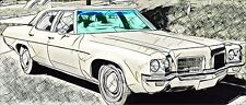 Chevrolet Impala Caprice 2 / 4D HardTop Cpe 1971 – 1976 Frontscheibe + Antenne