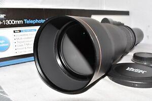 Nikon DIGITAL DSLR 650 1300mm zoom lens D3100 D3200 D3300 D3400 D3500 + MORE