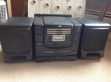 JVC PC-XC20BK Portable Tape Deck /  CD Changer Stereo System