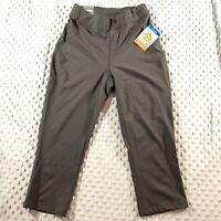 Columbia Womens Activewear Bottoms Stone Size Small S Capri Pants $55