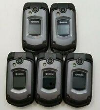 Lot of 5 Kyocera Duraxtp E4281 Sprint Fair Condition -SR1040