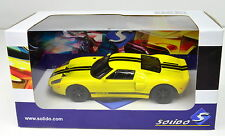 Ford GT amarillo escala 1 43 de solido