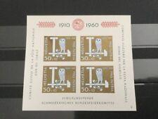 Schweiz Michel: Block 17 Ungebraucht. Falz. Pro Patria 1960. Bundesfeier.