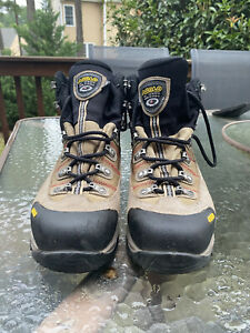Men's ASOLO Fugitive GTX Gore-Tex Waterproof Hiking Leather Boots Size 11.5