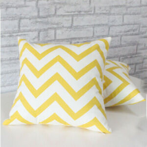 Geometric Pattern Cushion Covers Square Pillow Cases Cover Sofa Home Decor #22