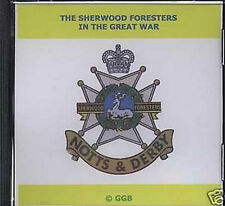 SHERWOOD FORESTERS IN THE GREAT WAR