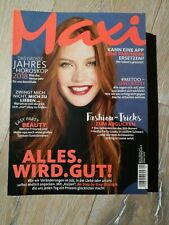 Maxi Zeitschriften 2018 Konvolut