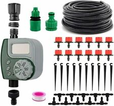 New Listing10M Drip Irrigation System Plant kit Watering Garden Lawn Hose Manual/Automatic