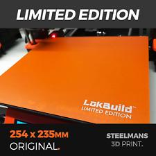 LokBuild LIMITED EDITION - 254 x 235 (Prusa MK3 and Prusa MK3S)