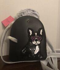 Kate Spade Amelia Francois FRENCH BULLDOG Mini Convertible BACKPACK, Bag New!