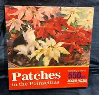 VINTAGE 1994 HOYLE 550 Pc Patches in the Poinsettiass Puzzle -- NEW Sealed