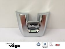 Original VW steering wheel badge r-Line /Chrome/for