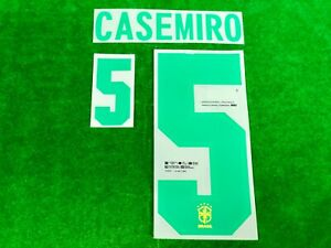 OFFICIAL PLAYER ISSUE BRAZIL CBF HOME COPA AMERICA 2021 2020-21 AUTHENTIC PRINT