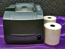 Ithaca Bankjet 1500 Inkjet Receipt Printer and 25 Paper Rolls
