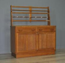 Attractive Retro E Gomme G Plan Oak Sideboard Cabinet Dresser With Plate Rack