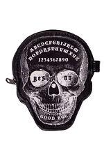 Banned Apparel Gothic Goth Occult Skull Power Trip Purse Coin Purse Ouija