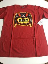 New OBEY Graphic Tee T-Shirt Skater Surfer Hip Street Designer Shirt Size M