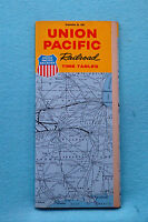 Union Pacific - Time Tables - Sept. 24, 1961