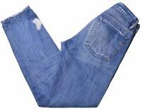 DIESEL Womens Jeans W29 L31 Blue Cotton Slim  KS02