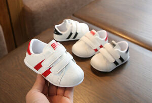 UK Toddler Sneakers Shoes Casual Sports Walking Trainers Baby Kids Girl's Boy's