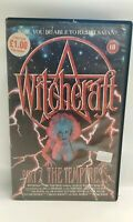VHS Big Box Ex Rental Tape Witchcraft Part 2 The Temptress 1989 Rare Horror
