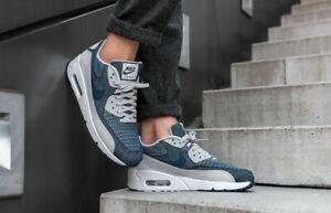Nike Air Max 90 Ultra 2.0 'Jacquard' 898008 400 Grey/Black New Men's Size 9