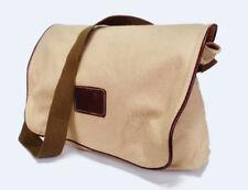 Khaki Brown Canvas Shoulder Bag Women of Faith Messenger Purse